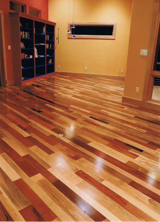 Hardwood Floor Installation, Restoration And Resurfacing. Patterned Hw Floor