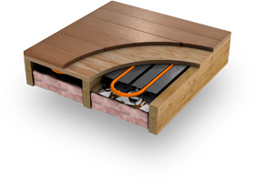 Radiant Floor Heating Makes Hardwood Flooring Comfortable Throughout The Winter