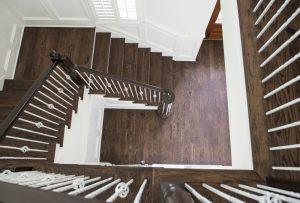 matching hardwood stairs