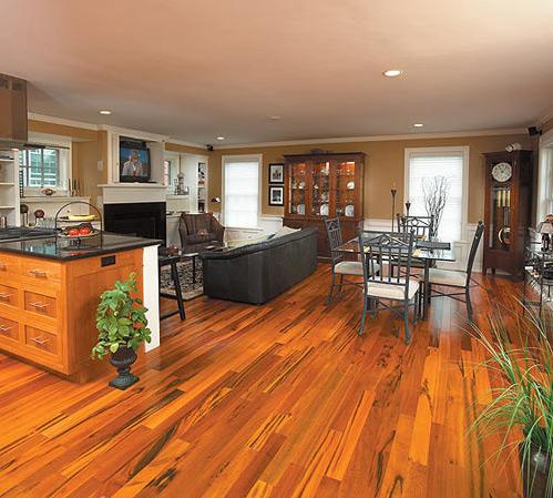 Tigerwood Flooring – Sustainable Beauty